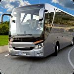 Coach bus simulator driving 2 Symbol