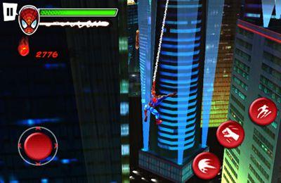 截图蜘蛛侠:绝地战士在iPhone