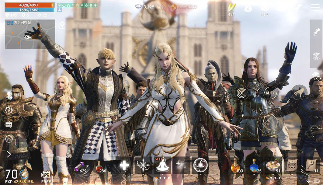 RPG Lineage 2M pour smartphone