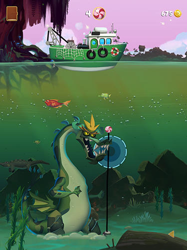 Monster fishing legends para Android