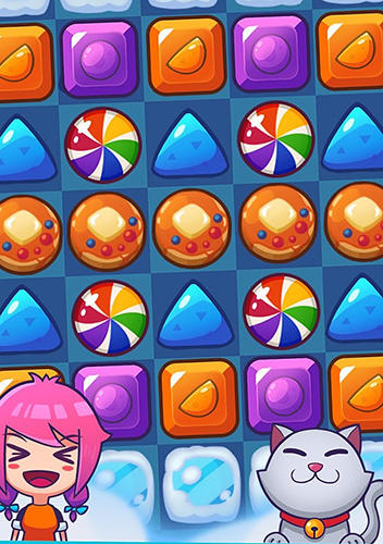 Tasty candy: Match 3 puzzle games für Android