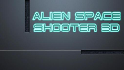 Alien space shooter 3D Symbol