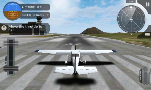 Simulador de voo de avião 2015 para Android