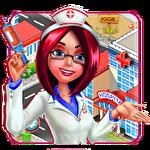 Doctor mania: Hospital game Symbol