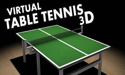 Virtual Table Tennis 3D captura de pantalla 1