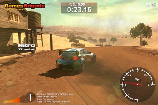 Racing games Rally point 4 for smartphone