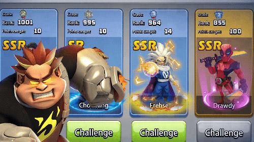 Heroes mobile: World war Z screenshot 1