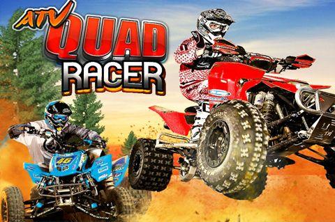 logo ATV quad racer