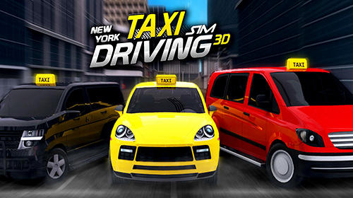 New York taxi driving sim 3D скриншот 1