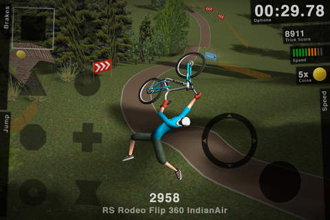 Езда по склонам на горных велосипедах