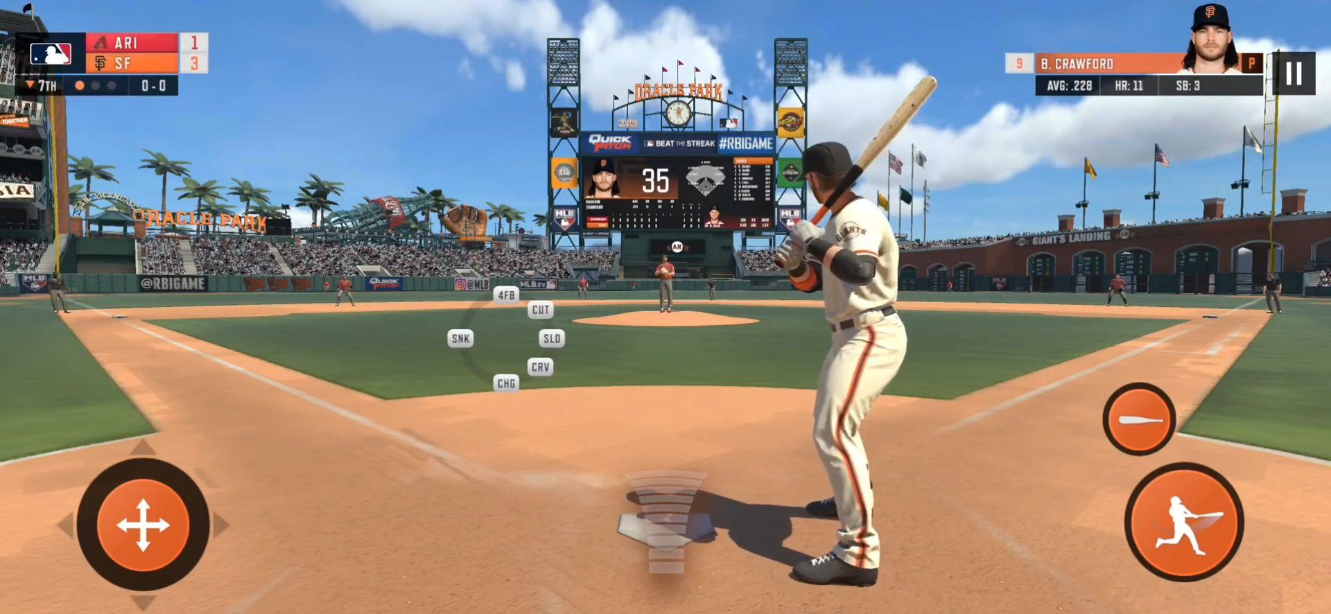 Android用 R.B.I. Baseball 20