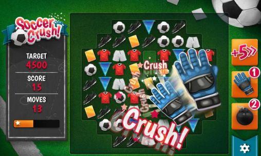 Arcade-Spiele Soccer crush für das Smartphone