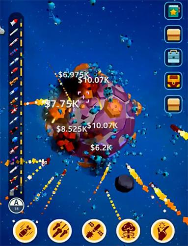 Juegos de arcade Planet overlord para teléfono inteligente