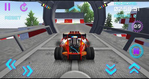 3D extreme stunt: Formula racer screenshot 2