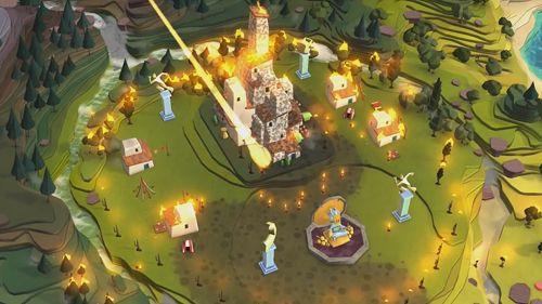 Simulator-Spiele: Lade Godus auf dein Handy herunter