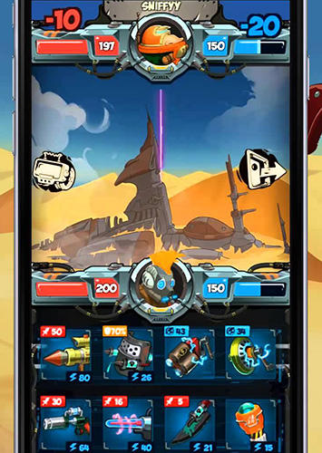 Scavenger duels: Online collectable weapons game für Android