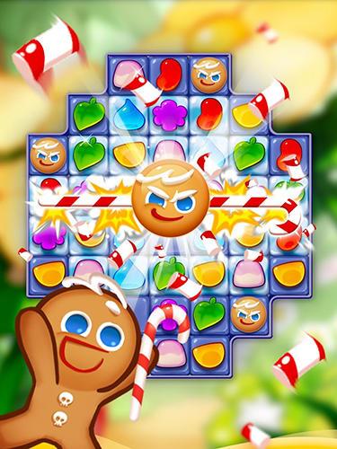 Arcade-Spiele Cookie run: Jelly pop für das Smartphone
