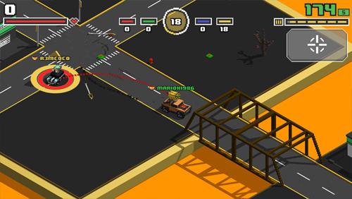 Arcade Smashy road: Arena für das Smartphone