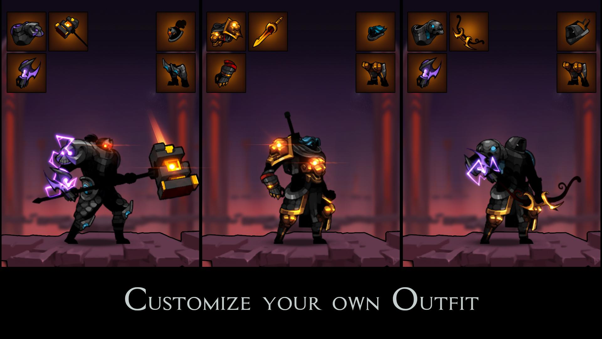 Stickman Master: League Of Shadow - Ninja Fight スクリーンショット1