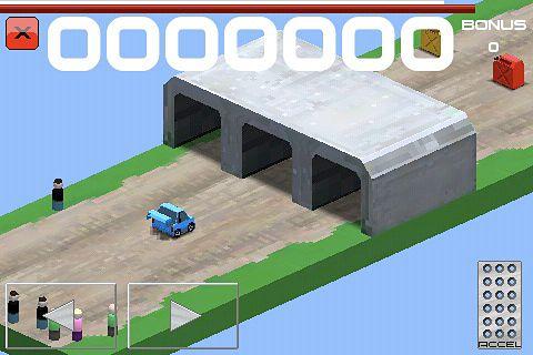 Juegos de arcade: descarga Corredor de rally cubico a tu teléfono