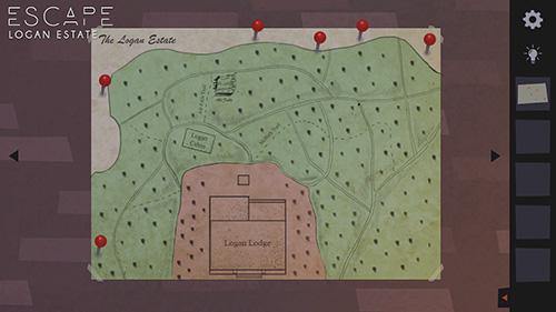 Abenteuer Escape Logan estate für das Smartphone
