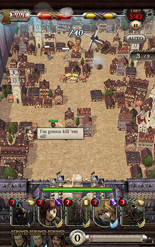 Attack on titan: Tactics screenshot 1