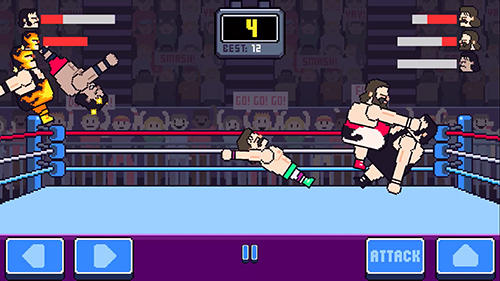 Rowdy wrestling für Android