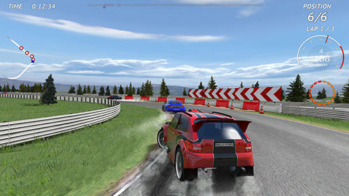 Rallye Rally fury: Extreme racing auf Deutsch
