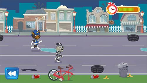 Arcade-Spiele Puppy policeman patrol für das Smartphone