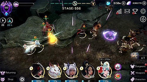 Savior saga: Idle RPG pour Android