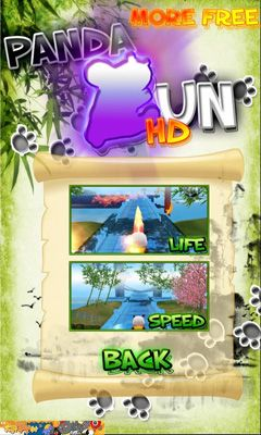 Panda Run HD ícone