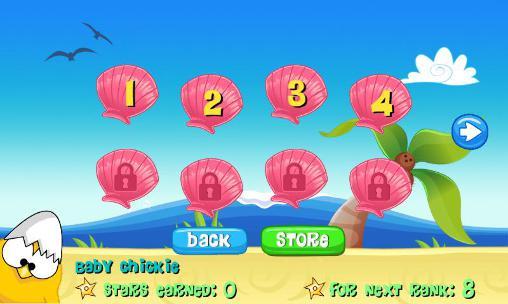 Arcade-Spiele Ninja chicken: Beach für das Smartphone
