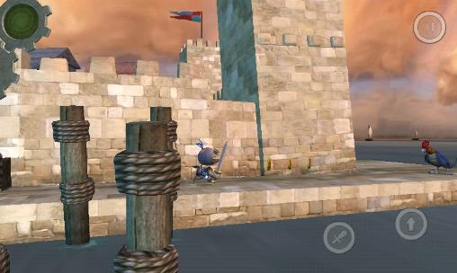 Wind-up knight by Robot invader Screenshot