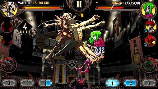 Skullgirls captura de pantalla 1