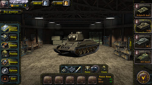 Find and destroy: Tank strategy for Android