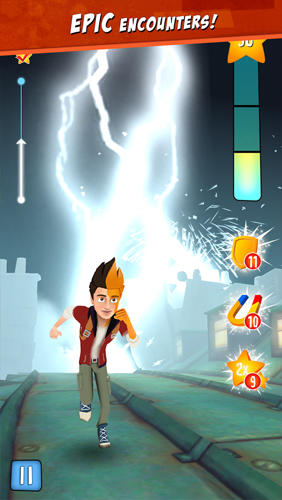Star chasers: Rooftop runners für Android
