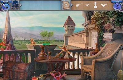 截图魔法学院2:谜堡探险在iPhone