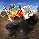 Hill climb AED monster truck Symbol