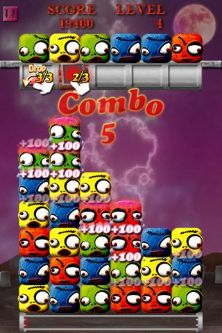 Cube zombie for iPhone