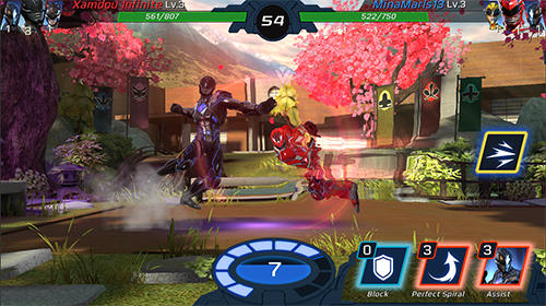 Power rangers: Legacy wars for Android