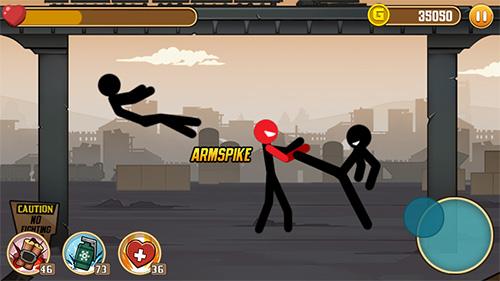 Stickman fight captura de tela 1