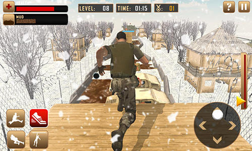 US army course training school game capture d'écran