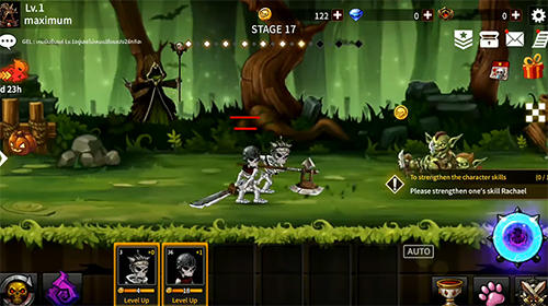 Skull knights: Idle RPG для Android