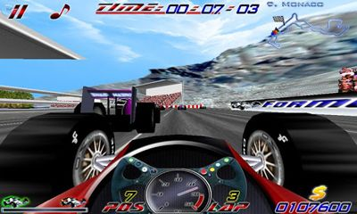 Racing games F1 Ultimate for smartphone
