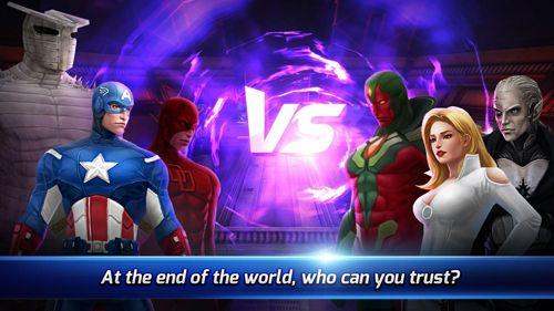 Kämpfen: Lade Marvel: Kampf der Zukunft auf dein Handy herunter