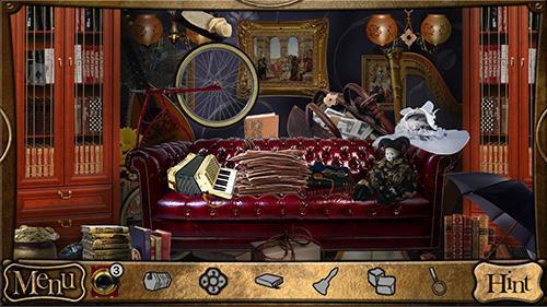 Detective Sherlock Holmes: Spot the hidden objects auf Deutsch