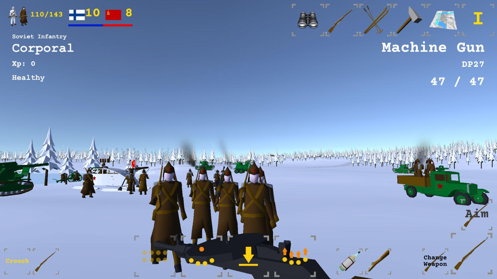 Winter War für Android