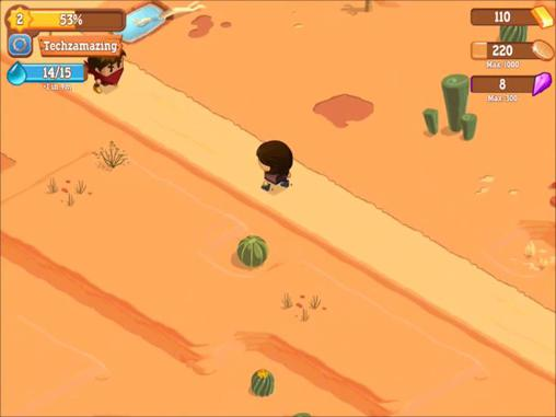 Strategy RPG games Little bandits in English