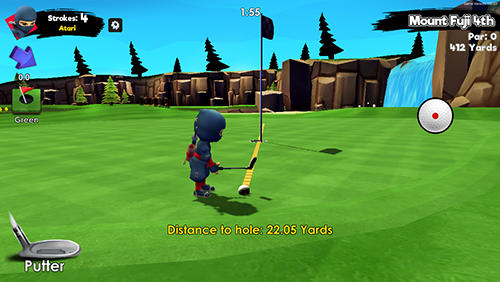 Ninja golf Screenshot