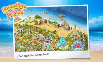 Onlinespiele Paradise Island für das Smartphone